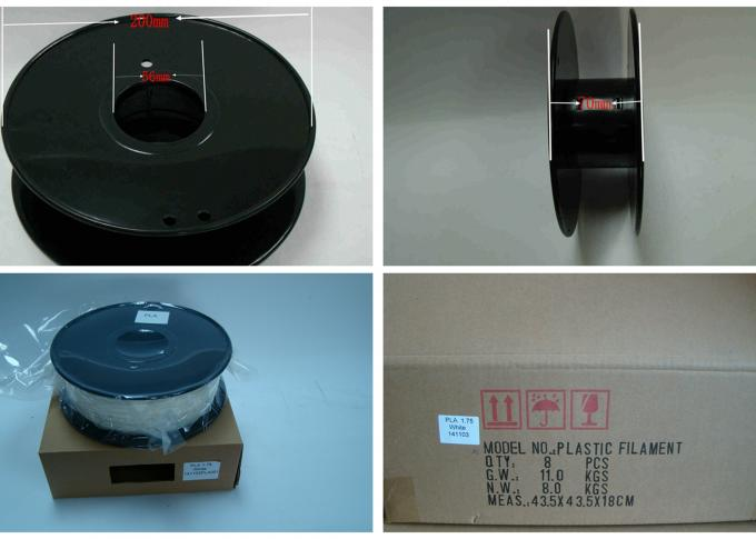 Carbon fiber 3D Printing Filament  .0.8kg / Roll ,1.75mm 3.0mm ,DEJIAN factory